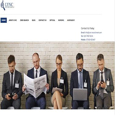 Lync Recruitment   Optical  Audiology